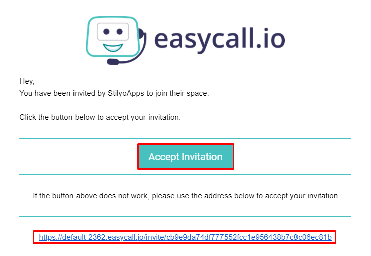 Accept Invitation
