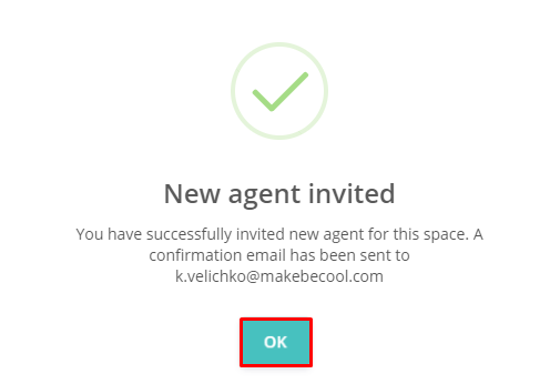 New Agent Invited