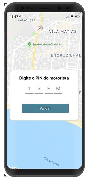 PIN do motorista