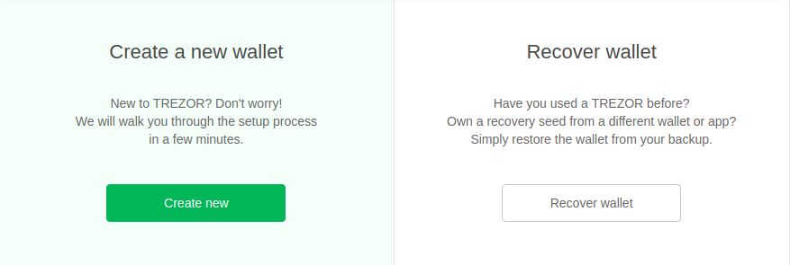 Recover Wallet