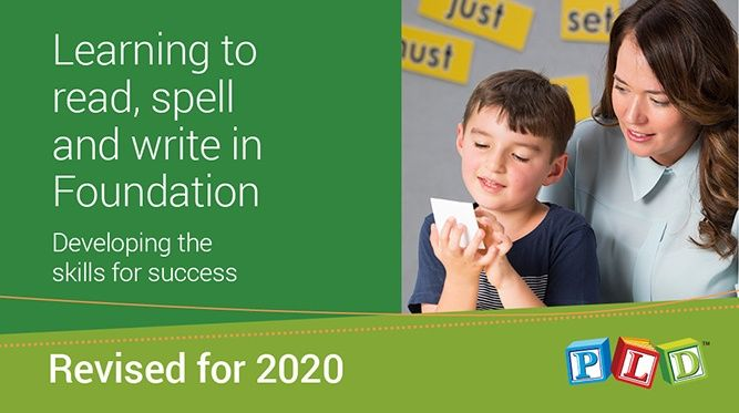 Learning to read, spell and write in Foundation
