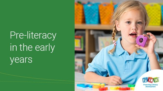 Pre-literacy in the Early Years