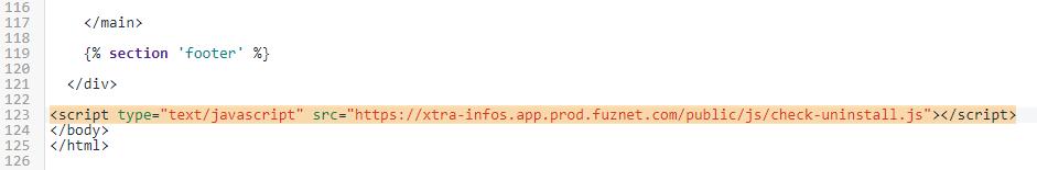 Delete this line of code