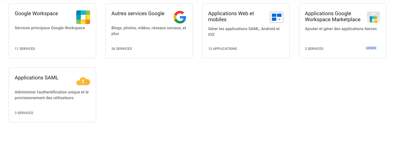 Applications Google
