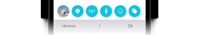Journey iOS toolbar