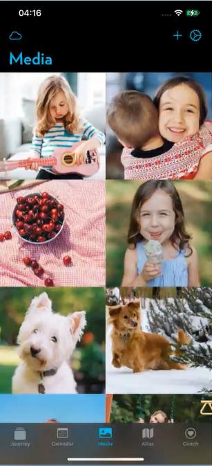 Journey iOS Photo Gallery