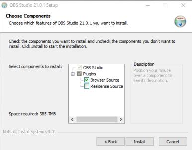 一. 確保你已安裝OBS,並且啟用OBS Plugin