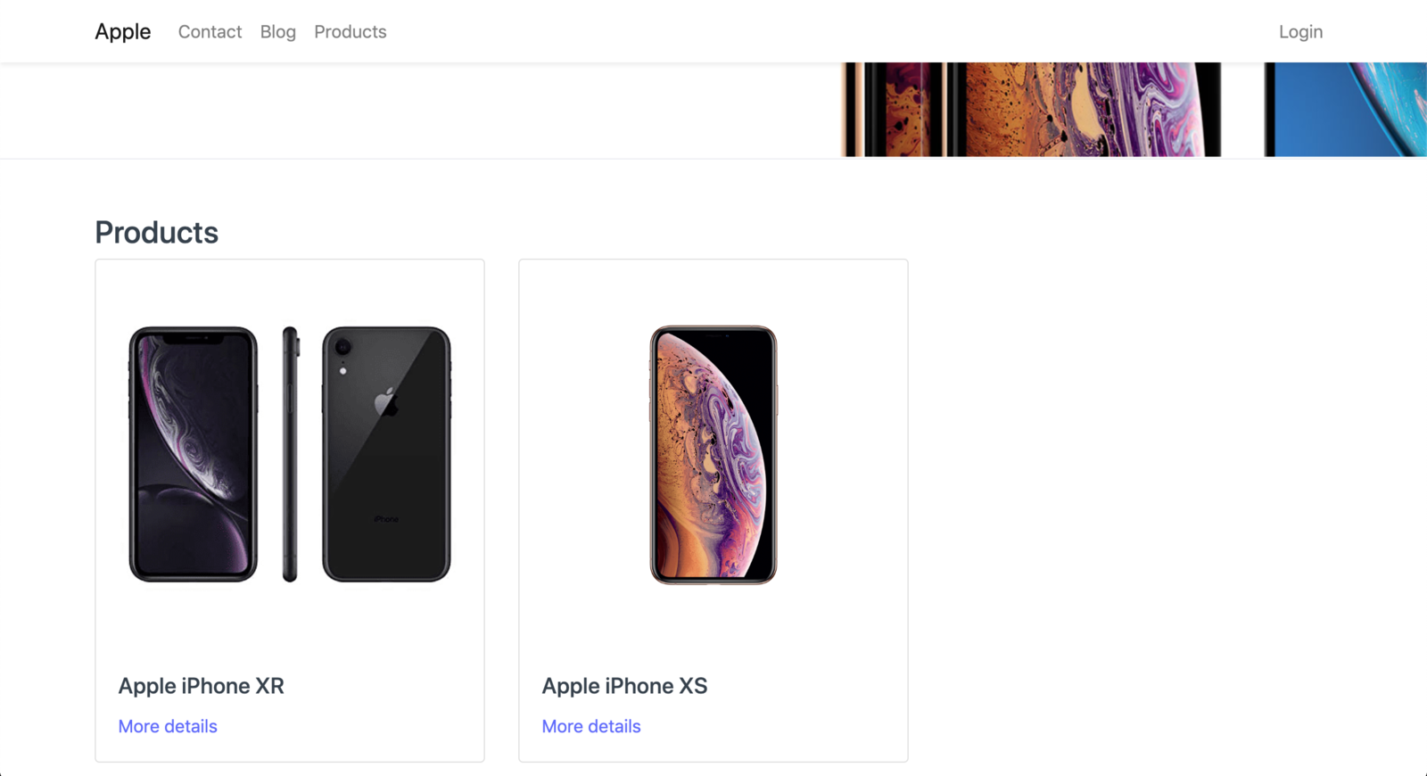 Featured Products on Homepage