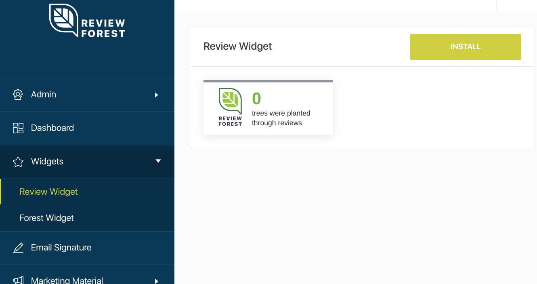 ReviewForest Widgets