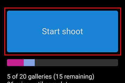 Start Shoot