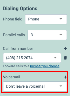 Automated Voicemail Drop