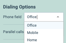 Salesloft Native Phone Fields