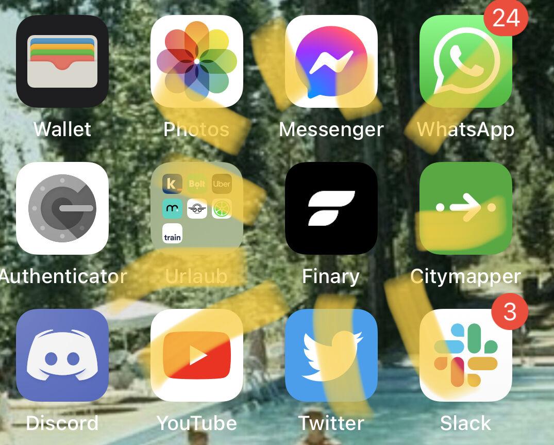 Icône Finary sur votre écran d'accueil
