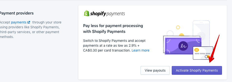 activate payment