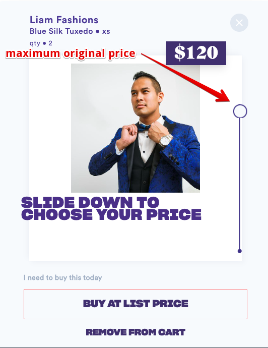 maximum original price