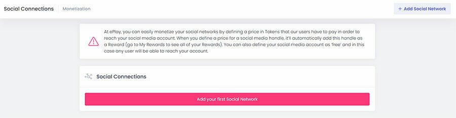Haz clic en Añadir redes sociales.