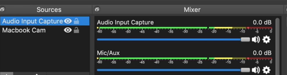 Как определить, используете ли вы два аудиопотока.