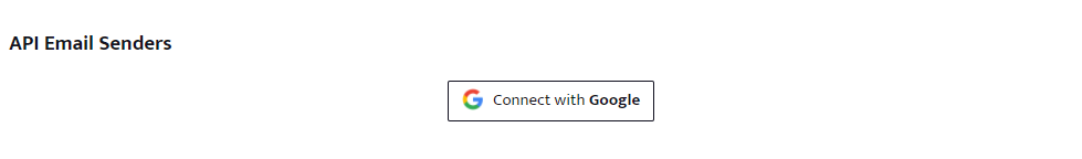 Connect with Google