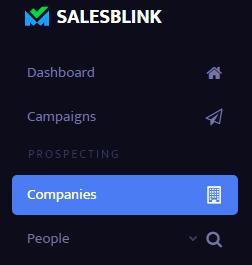 Go to 'Companies'
