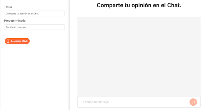 Editor Átomo: Chat