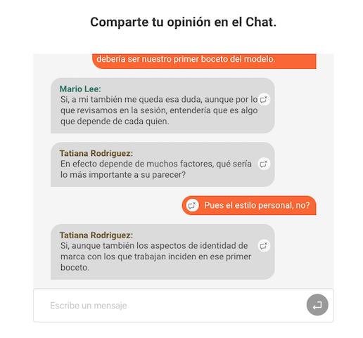 Ejemplo Átomo Chat