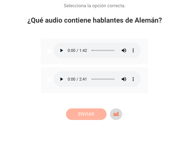 Átomo de Opción de Audios