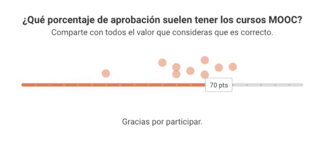 Ejemplo de Barras sociales (Sliders)