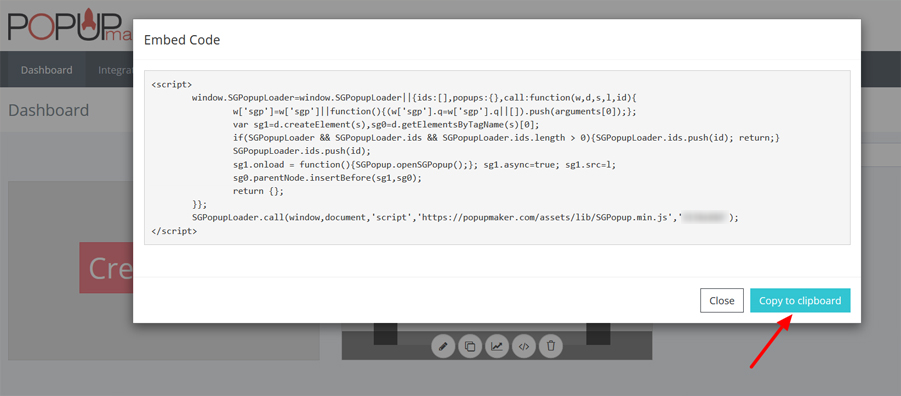 Copy embed code to clipboard