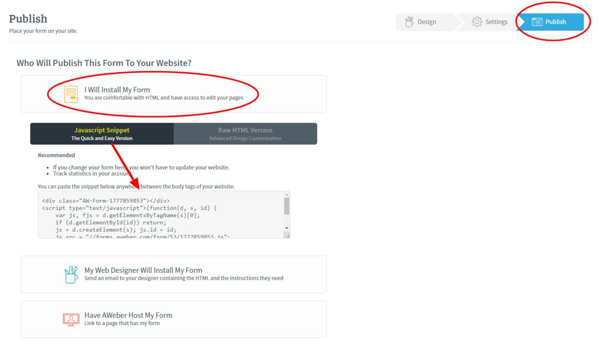 Copy JavaScript Snippet Code