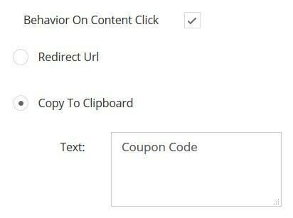 Copy to clipboard option