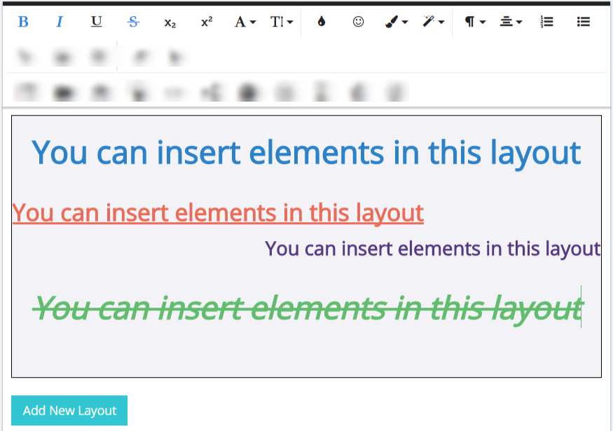 How to customize your popups typography
