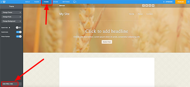 Paste embed code into your Weebly website