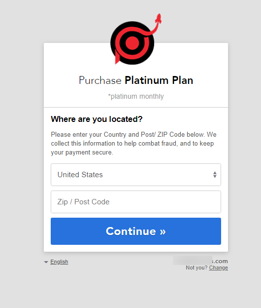 Popup Maker payment location