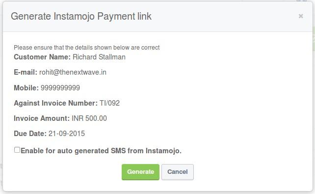 Instamojo Payment
