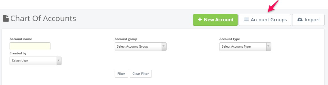 Account group