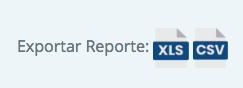 Exporta tus reportes para que tengas mejor control de los mismos ✅