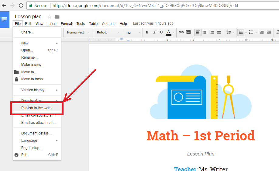 how to add a google doc to a google sheet