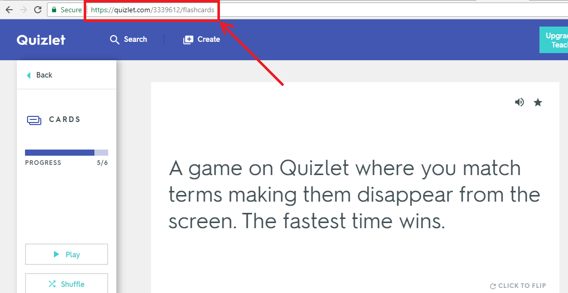 You can embed all kinds of Quizlets (flashcards, tests...) into Sutori