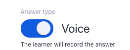 voice or text