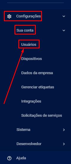 Opção dos usuários