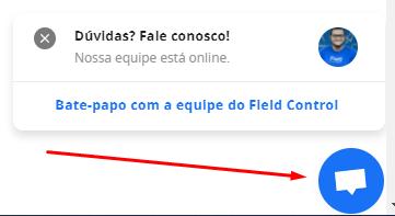 Chat online da Field Control