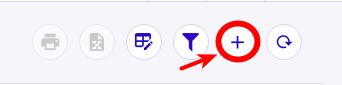 """Clique no botão """"+"""" para criar uma nova atividade"""