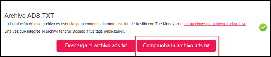 Comprobación ads.txt automático