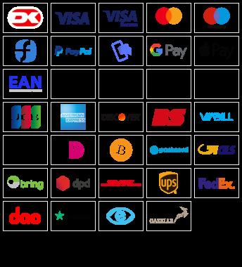 Eksempel på logoer