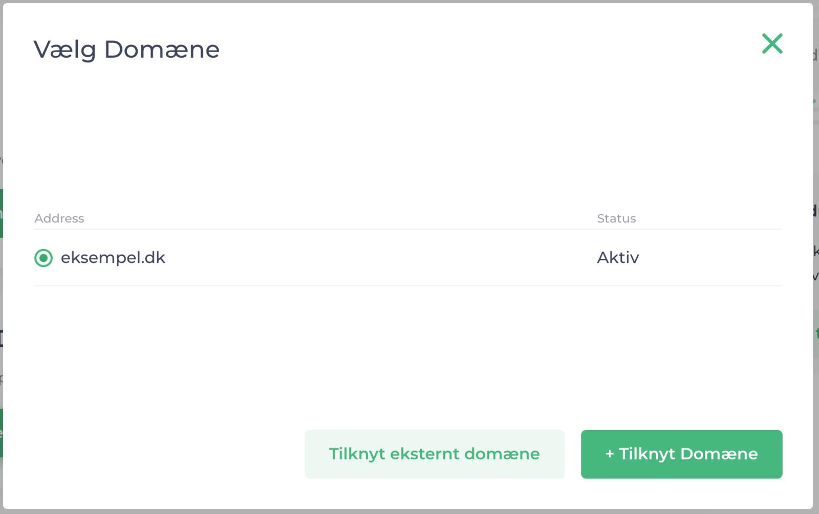 Attach Domain —Active Premium