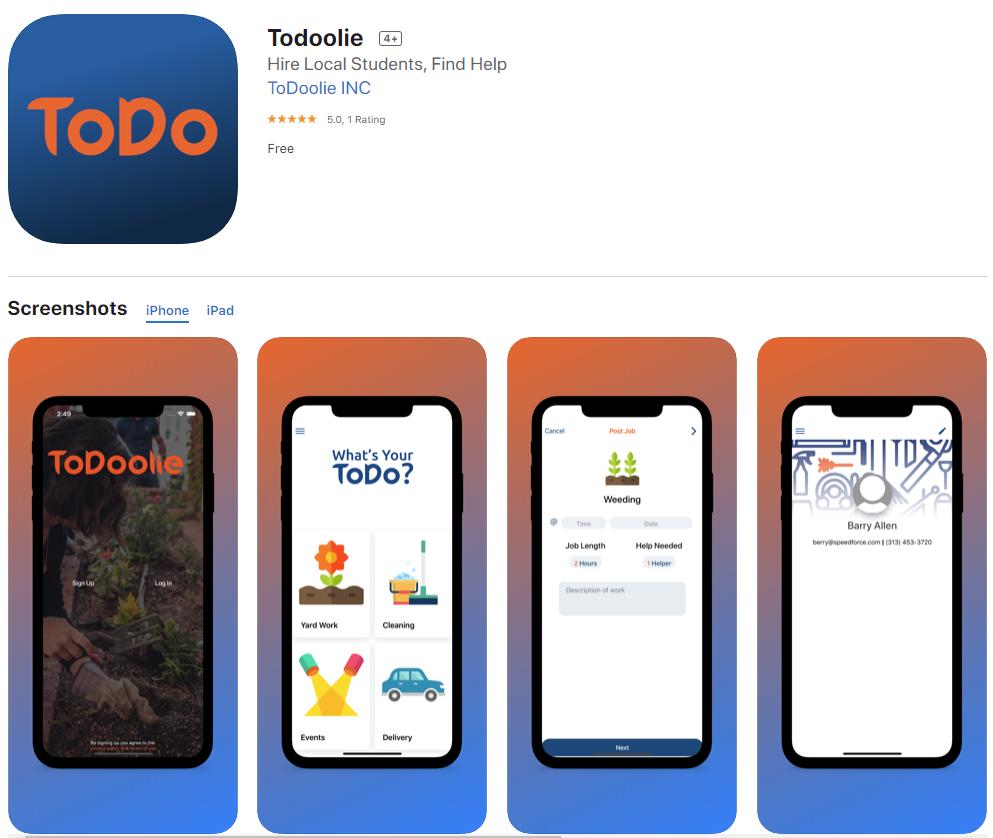 ToDoolie Client App