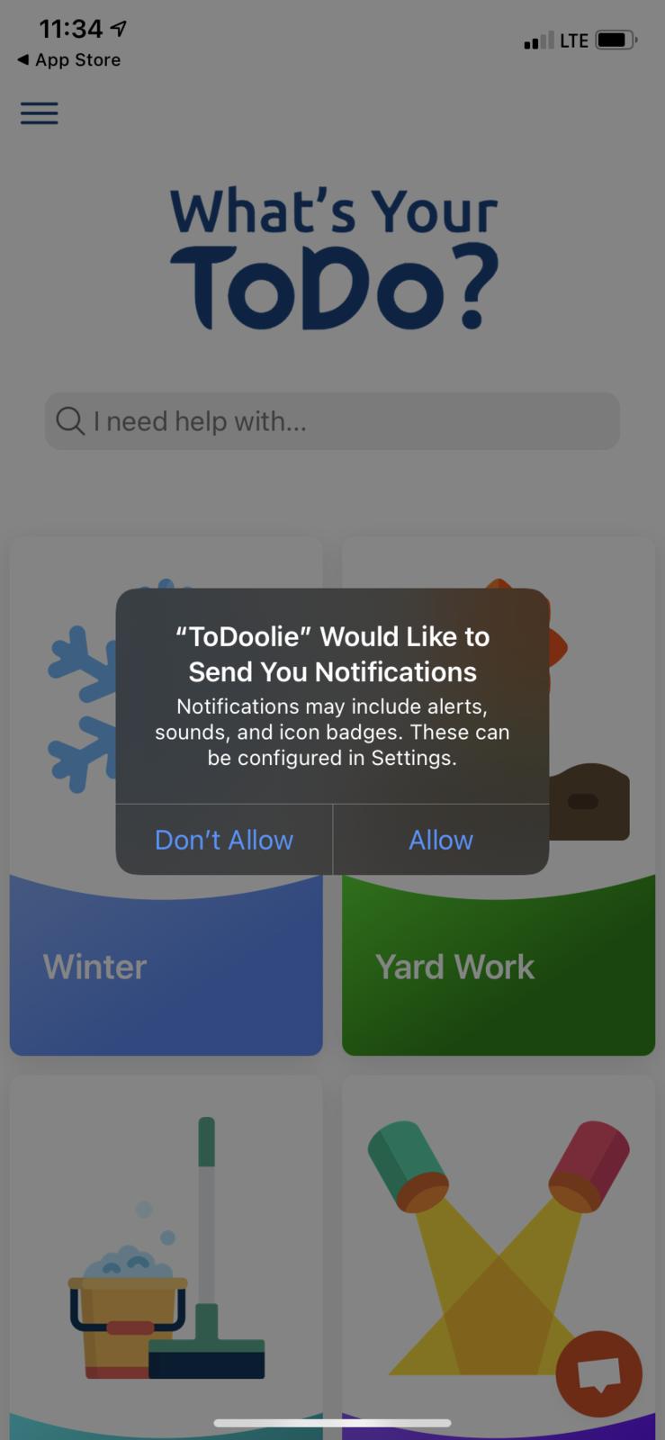 Turn On NotificationsAlert Box