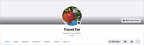 New Facebook Page Experience