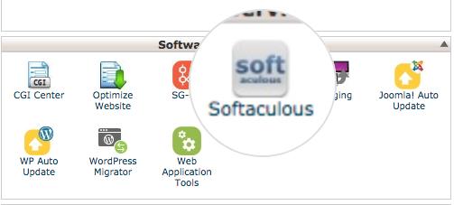Installing WHMCS through Softaculous 1