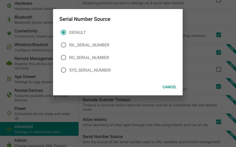 Serial Number Source